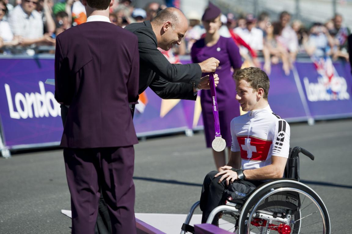 Medallienübergabe in London 2012