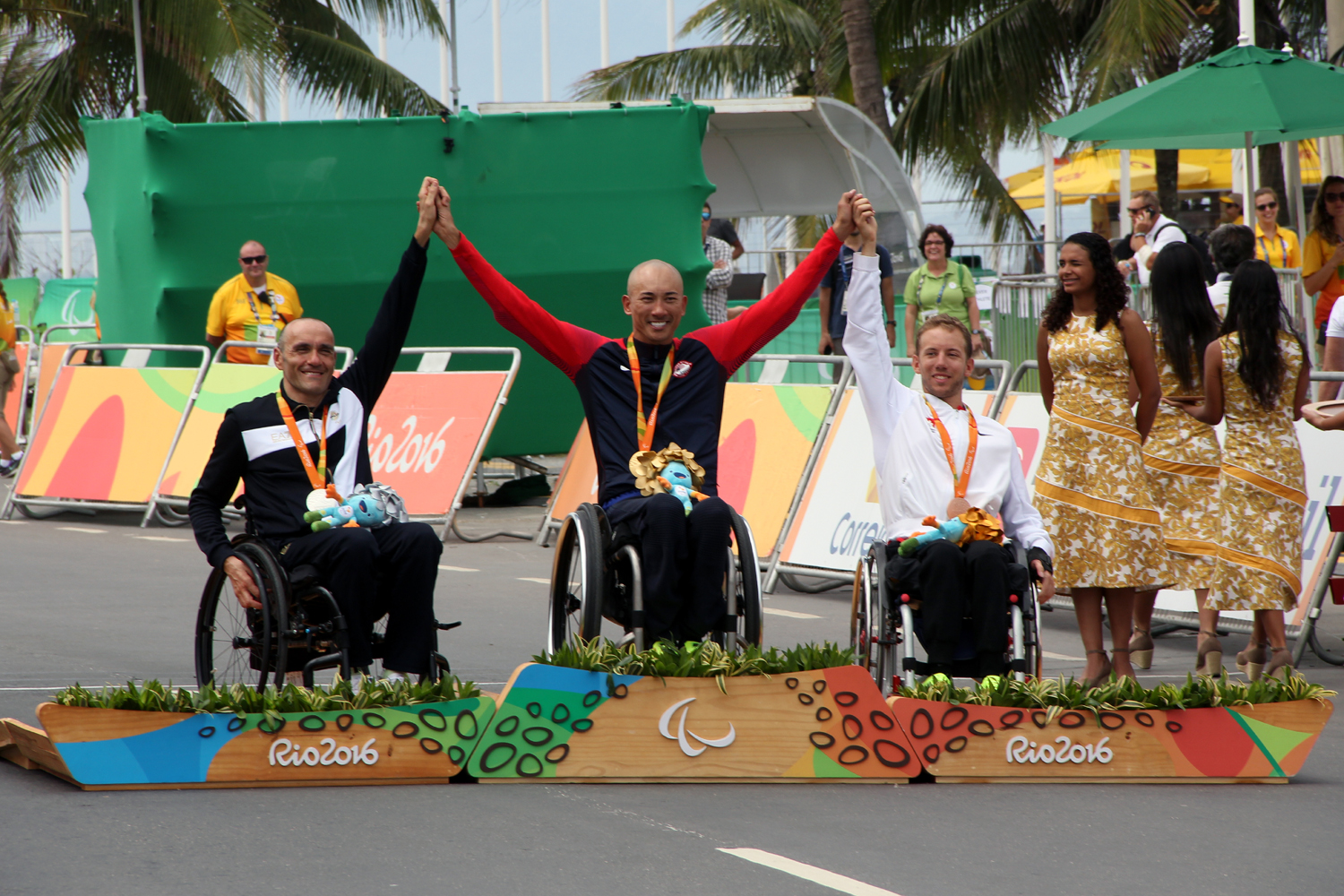 Bronze an den Paralympics in Rio